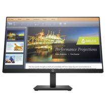 "HP LED Monitor 21.5"" ProDisplay P224 AG IPS, 1920x1080, 16:9, 3000:1, 250cd, 5ms, VGA, DisplayPort, HDMI, fekete"