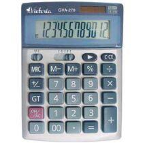 """Számológép, asztali, 12 számjegy, VICTORIA """"GVA-270"""""""