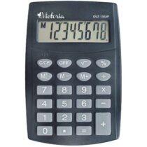 """Zsebszámológép, 8 számjegy, VICTORIA """"GVZ-136AP"""""""