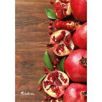 """Spirálfüzet, A4, kockás, 80 lap, VICTORIA """"Fruit"""""""