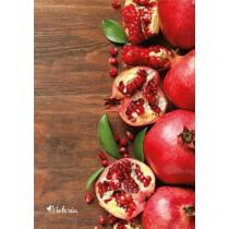 "Spirálfüzet, A4, vonalas, 80 lap, VICTORIA ""Fruit"""