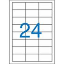 Etikett, univerzális, 64,6x33,8 mm, VICTORIA, 2400 etikett/csomag
