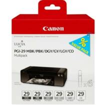 Canon PGI29 Multipack MBK/PBK/DGY/GY