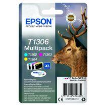 Epson T1306 Patron Multipack Három szín (Eredeti)