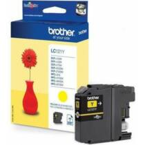 Brother LC121Y tintapatron (Eredeti)