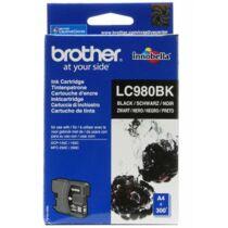 Brother LC980BK tintapatron (Eredeti)