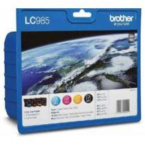 Brother LC985BKCMY tintapatron csomag (Eredeti)