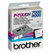 Brother TX251 szalag (Eredeti) Ptouch