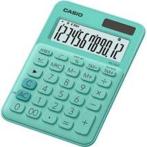 """Számológép, asztali, 12 számjegy, CASIO, """"MS 20 UC"""", zöld"""
