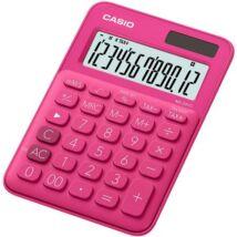 """Számológép, asztali, 12 számjegy, CASIO, """"MS 20 UC"""", magenta"""
