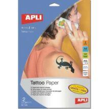 Fólia, tetováláshoz, A4, tintasugaras nyomtatóba, APLI