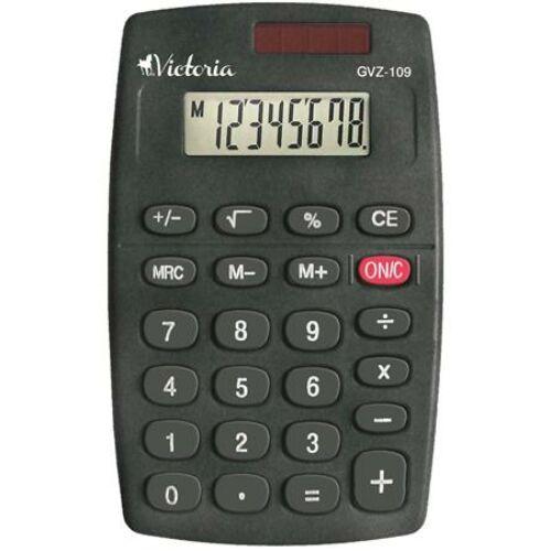 """Zsebszámológép, 8 számjegy, VICTORIA """"GVZ-109"""""""