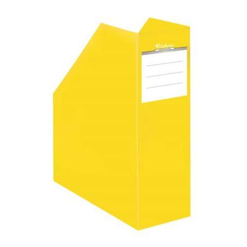 """Iratpapucs, karton, 90 mm, VICTORIA, """"Premium"""", sárga"""