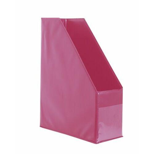 Iratpapucs, PVC, 95 mm, VICTORIA, pink