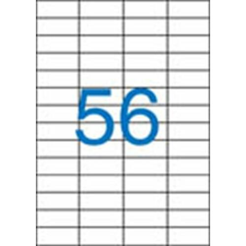 Etikett, univerzális, 52,5x21,2 mm, VICTORIA, 5600 etikett/csomag