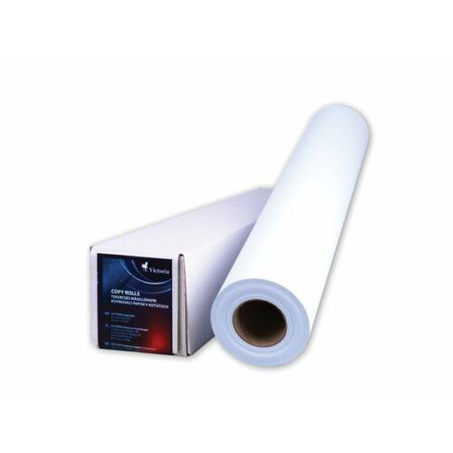 Másolópapír, tekercses, A0, 841 mm x 50 m x 50 mm, 80 g, VICTORIA