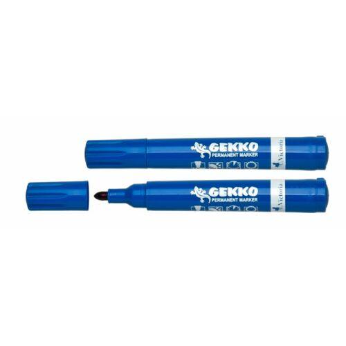 "Alkoholos marker, 1-3 mm, kúpos, VICTORIA ""Gekko"", kék"