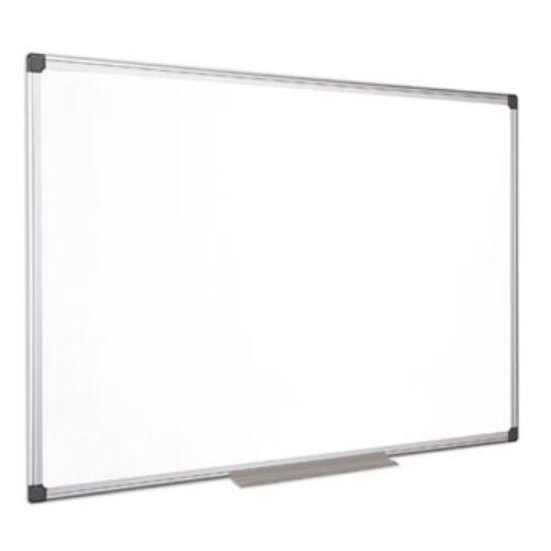 Fehértábla, mágneses, zománcozott, 120x180 cm, alumínium keret, VICTORIA