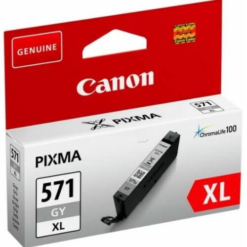 Canon CLI571XL Patron Grey