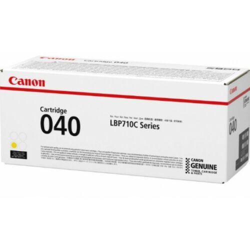 Canon CRG040 Toner Yellow /eredeti/ LBP710/712 5.400 oldal