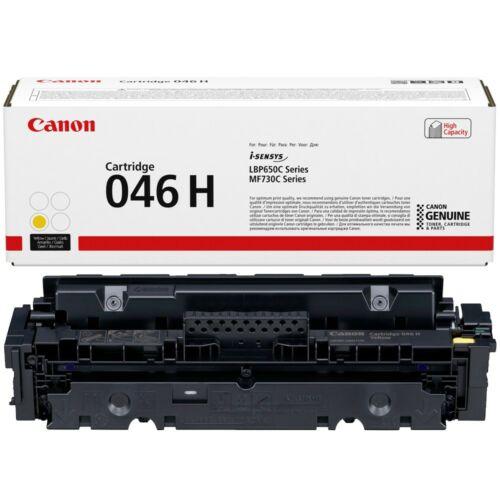 Canon CRG046H Toner Yellow /eredeti/ LBP654 5.000 oldal