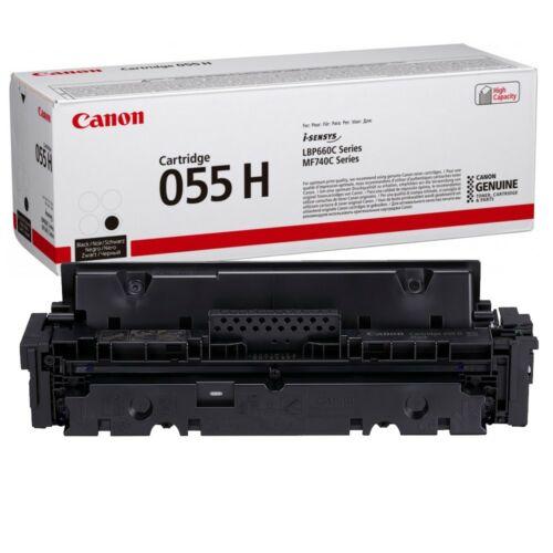 Canon CRG055H Toner Black 7,6K (EREDETI)