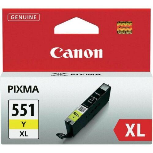 Canon CLI551XL Patron Yellow