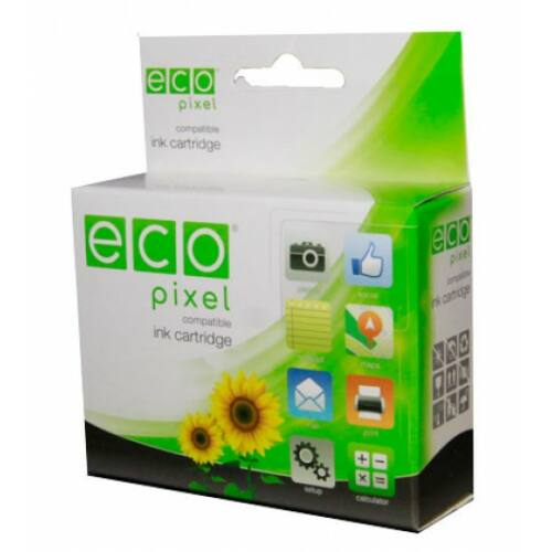CANON BCI24 Bk  ECOPIXEL BRAND (For use)