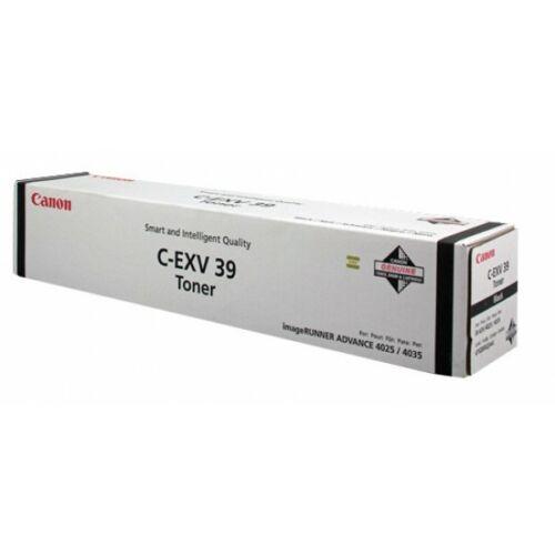 Canon C-EXV 39 Black Toner (Eredeti)