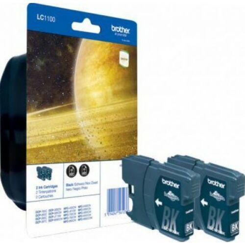 Brother LC1100BK2 tintapatron csomag (Eredeti)