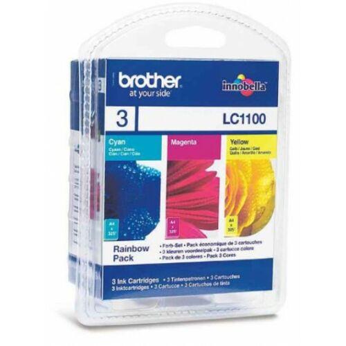 Brother LC1100CMY tintapatron csomag (Eredeti)
