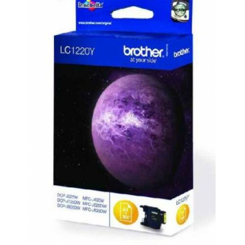 Brother LC1220Y tintapatron (Eredeti)
