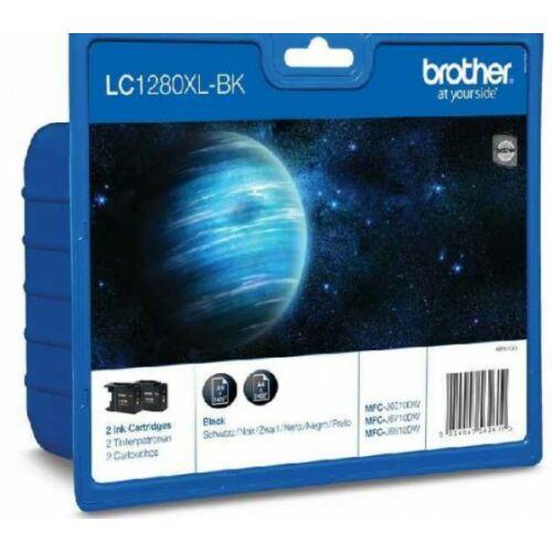 Brother LC1280XLBK2 tintapatron csomag (Eredeti)