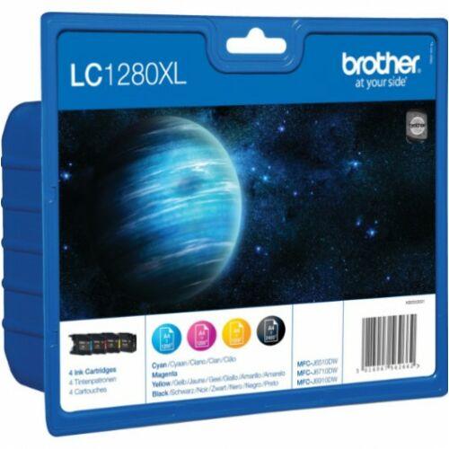 Brother LC1280XLBKCMY tinta csomag (Eredeti)