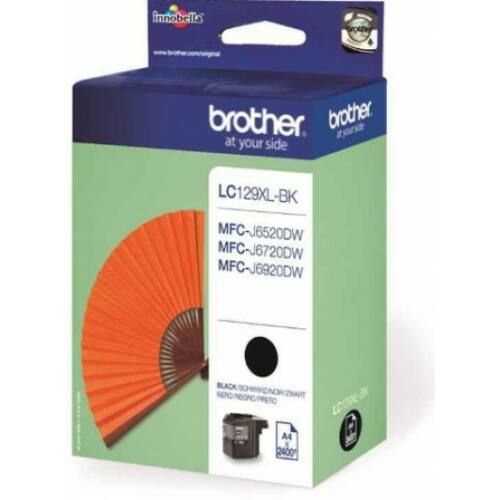 Brother LC129XLBK tintapatron (Eredeti)