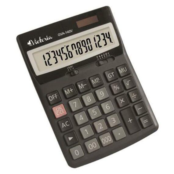 """Számológép, asztali, 14 számjegy, VICTORIA """"GVA-140"""""""