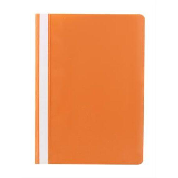 Gyorsfűző, PP, A4, VICTORIA, narancssárga