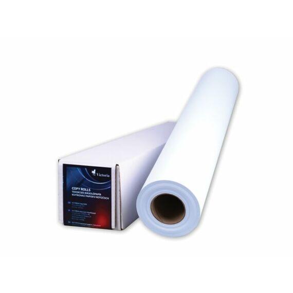 Másolópapír, tekercses, A0+, 914 mm x 175 m x 76 mm, 80 g, VICTORIA