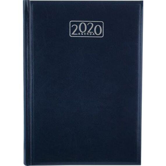 Naptár, tervező, A5, napi, VICTORIA, kék (2020 évi)