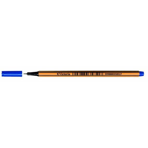 """Tűfilc, 0,4 mm, VICTORIA,""""Slim"""", kék"""