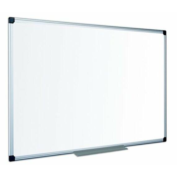 Fehértábla, zománcozott, mágneses, matt,  120x240 cm, alumínium keret VICTORIA