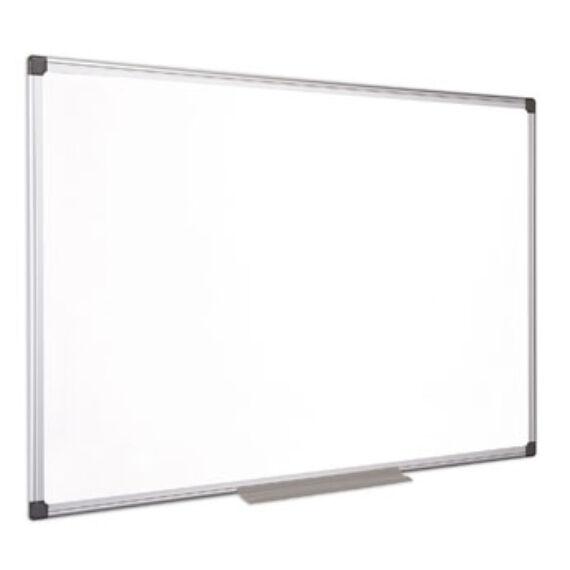 Fehértábla, mágneses, zománcozott, 100x100 cm, alumínium keret, VICTORIA